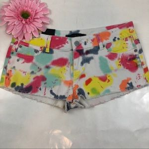Formula multi colored shorts
